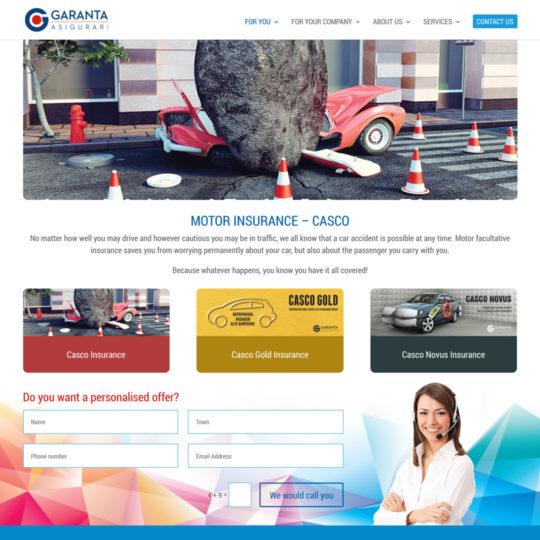 garanta website