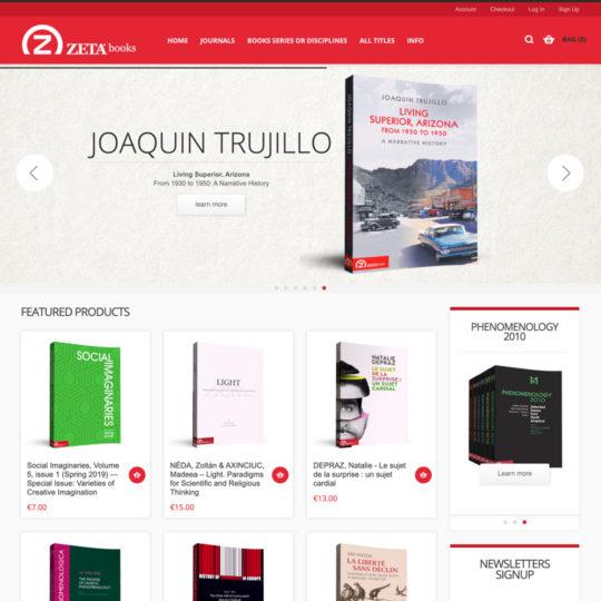 website design zetabooks